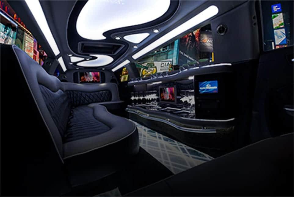 Chrysler 300 Stretch Limo Interior